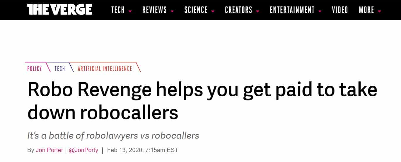 Cancel robocalls and sue robocallers